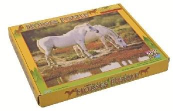 Puzzle s koňmi