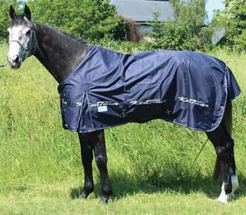 Deka nepromokavá Kentaur s fleecem modrá