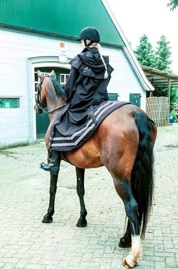 Kabát jezdecký nepromokavý HKM Seattle