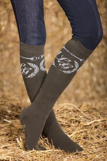 Ponožky Lauria Garrelli Paris s udidlem
