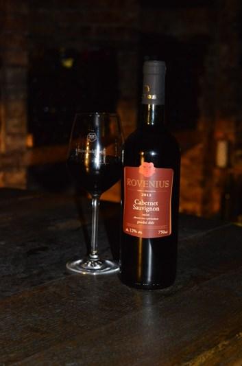 Cabernet Sauvignon pozdní sběr 2013 - suché - Víno Rovenius s.r.o.