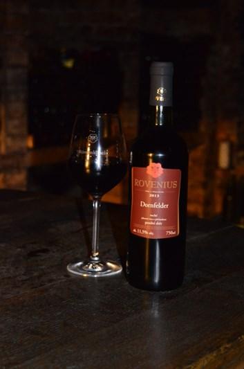 Dornfelder pozdní sběr 2013  - suché - Víno Rovenius
