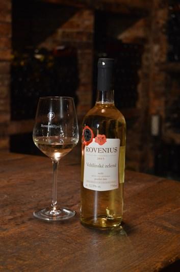 Veltlínské zelené pozdní sběr 2015 - suché - Víno Rovenius