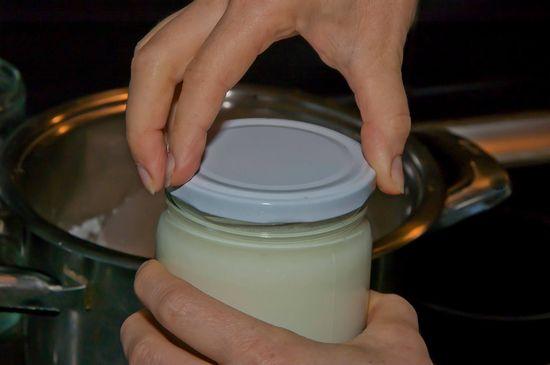 Jak vyrobit domácí jogurt, Výroba domácího jogurtu, Recept na jogurt (10)