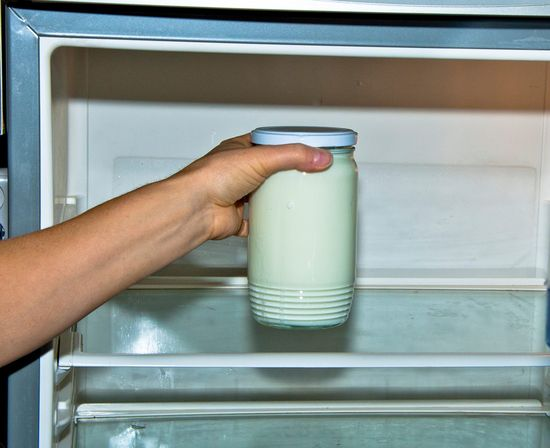 Jak vyrobit domácí jogurt, Výroba domácího jogurtu, Recept na jogurt (18)