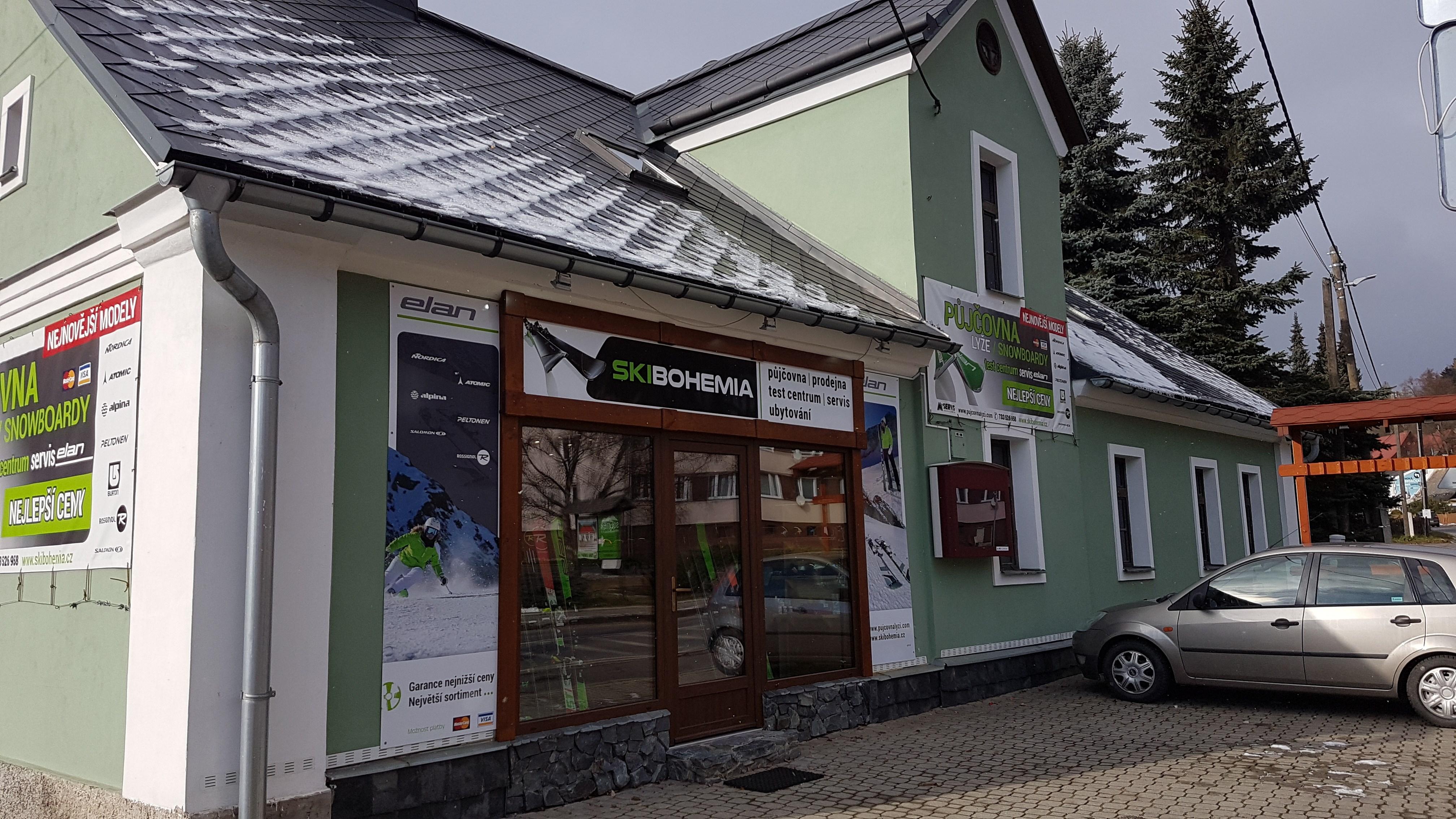 Prodejna lyžařského vybavení Skibohemia.cz
