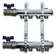 """IVAR - sestava rozdělovač / sběrač IVAR.CS 501 NS -8- 5/4""""xEK"""
