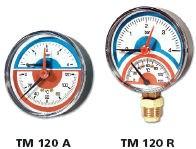 IVAR.TM 120 A - termomanometr 0-4 bar