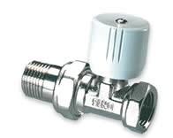 """IVAR - radiátorový ventil přímý 3/4"""" s přednastavením IVAR.VD 001 ECO"""