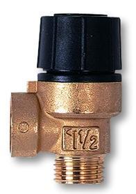 """IVAR - pojistný ventil pro topení - IVAR.PV 1234 - 6 bar 3/4"""" FF"""