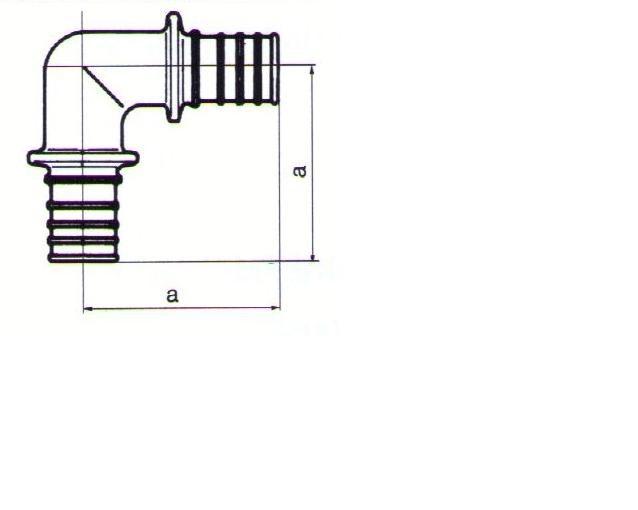 koleno 90° REHAU RAUTHERM S 20 mm