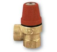 """IVAR.PV 311 - pojistný ventil  pro topení 3 bar 1/2"""" FF"""