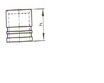 Rehau RAUTHERM S násuvná objímka 16 mm