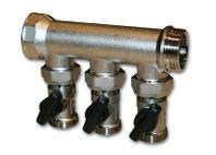 """IVAR - rozdělovač s kulovými uzávěry IVAR.KIT CS 205 N - 2 - 1"""""""