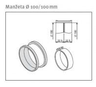 odkouření Protherm manžeta M1D 100/100+ spona plast SP3D