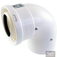 odkouření kondenzační Regulus - koleno 90° 80/125 PP/PP