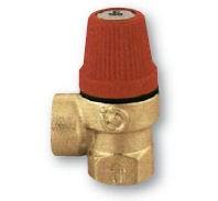 """IVAR.PV 311 - pojistný ventil  pro topení 8 bar 1/2"""" FF"""