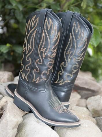 Westernové boty HKM Montana