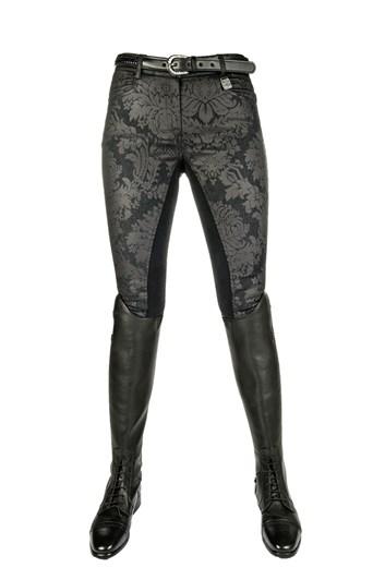 Rajtky HKM Black flower jeansové