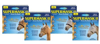SUPERMASK® II. SHIMMER WEAVE™ velikost arabian, bez uší