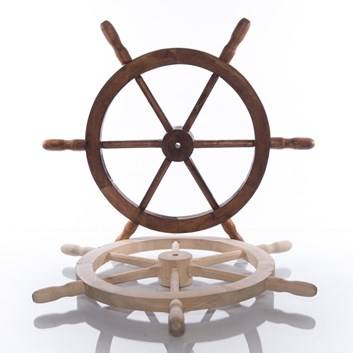 Kormidlo dřevěné 74 cm