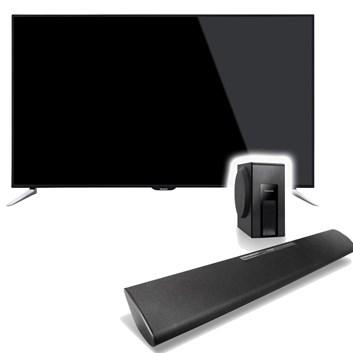 PANASONIC TX-48C320E + soundbar SC HTB18EG-K