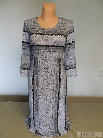 šaty KRADOHA- BÍLÁ KRAJKA  XXL
