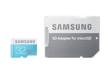 Micro SDHC 32GB Samsung Standard class 6 + adapter - omezené množství
