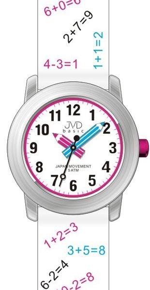 Dětské náramkové hodinky JVD J7120.3  , Tahák