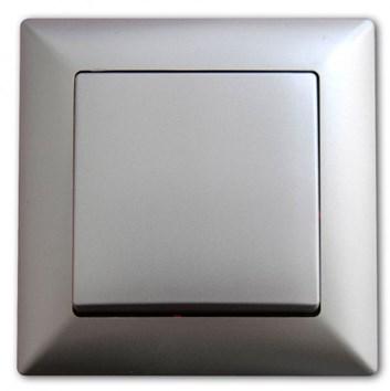 Vypínač č. 6 stříbrná Visage Ambience