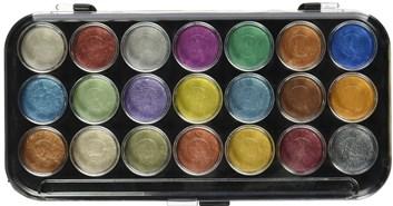 Yasutomo Pearlescent Watercolor Set, 21 barev