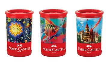 Plastové ořezávátko v tubě, Faber-Castell