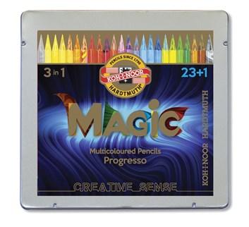 Progresso Magic (pastelky v laku), 23+1 kus, Kohinoor